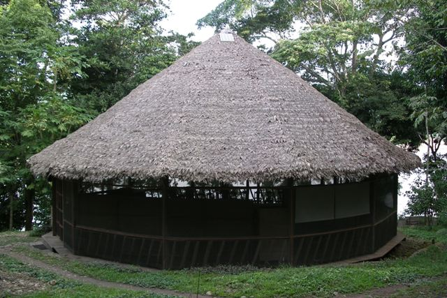 Traditional round house